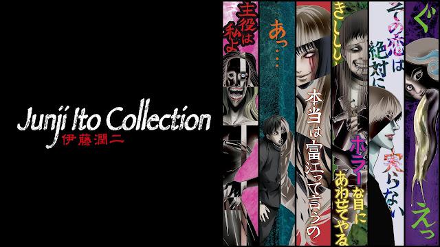Imagem de divulgação do anime Junji Ito Collection