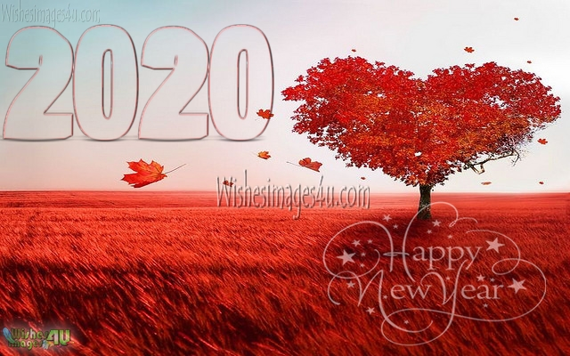 New Year 2020 Love Wishes Pics