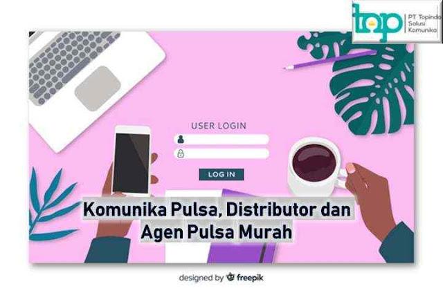 Komunika Pulsa, Distributor dan Agen Pulsa Murah