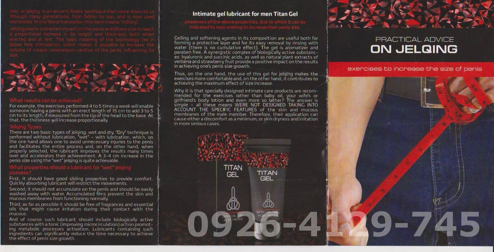 titan gel manual how to use titan gel philippines
