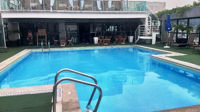 Piscina do Hotel Pestana Rio Atlântica