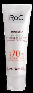 Protetor solar Roc Minesol Oil Control