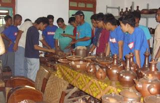 Wisata Gerabah di Desa Wisata Melikan, Wedi, Klaten