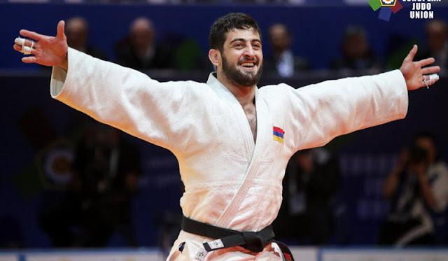 Karapetian campeón europeo de Judo