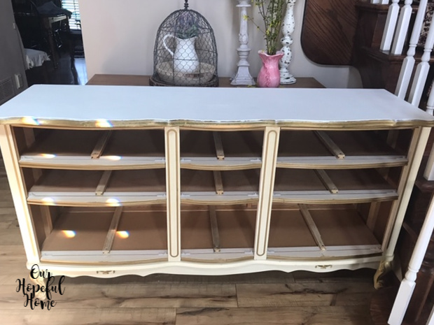 Painting A French Provincial Dresser, French Provencal Furniture
