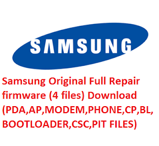 Original firmware (Stock Rom).All Model Samsung 4 files Repair