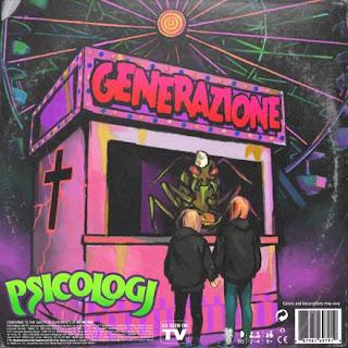 """Copertina di """"GENERAZIONE"""", il nuovo singolo di PSICOLOGI."""