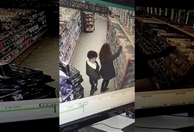 Markette Genç Kızın Arkasına Geçip Mastürbasyon Yaptı