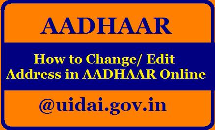 How to Change/ Edit Address in AADHAAR Online at uidai.gov.in/2020/08/how-to-update-edit-change-address-in-aadhaar-online-uidai.gov.in.html