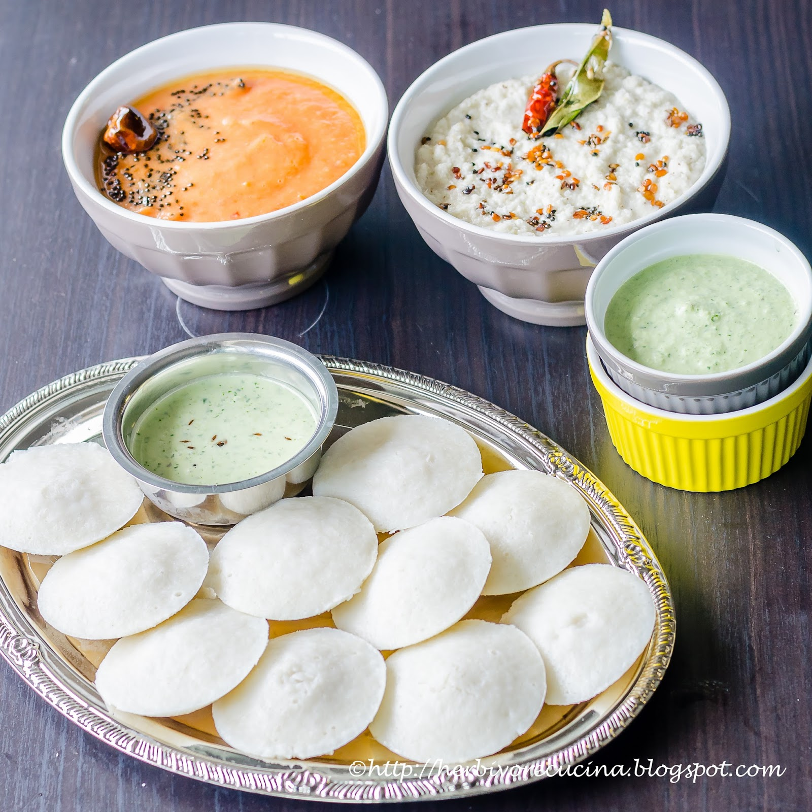Herbivore Cucina: Rice Idli | South Indian Rice Cakes