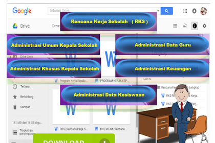 Kumpulan Format Buku Administrasi Sekolah Format Excel
