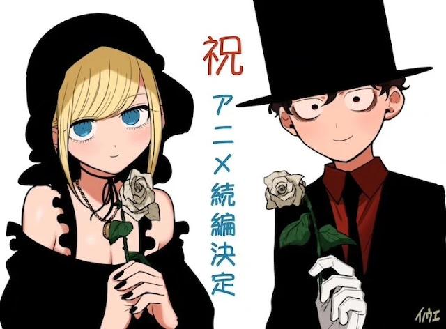 El anime Shinigami Bocchan to Kuro Maid tendrá segunda temporada.