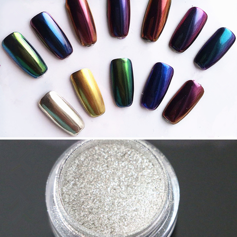 Born Pretty Store Blog: Mirror Powders & Mermaid Gradient Powders ...