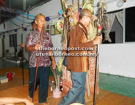 sarawak culture, perayaan gawai dayak sarawak