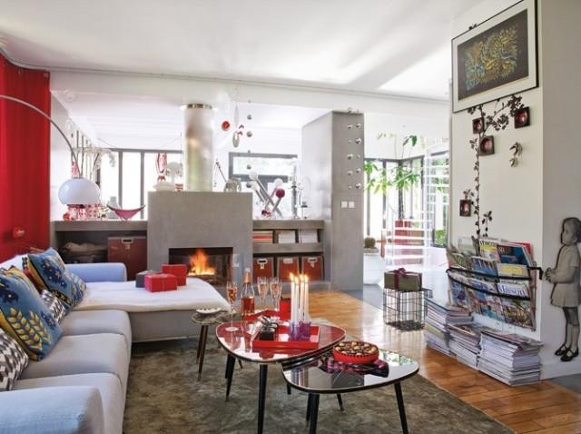 sal n con chimenea muy iluminado c mo arreglar los muebles en una peque a sala de estar la. Black Bedroom Furniture Sets. Home Design Ideas