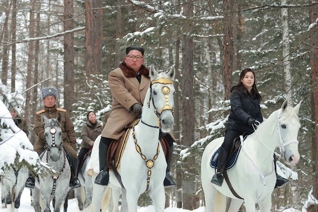 Kim Jong Un Is Back On His White Horse