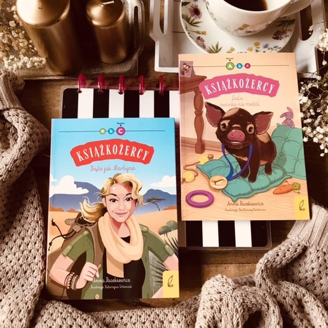 Książkożercy - Lulu świnka na medal // Bądź jak Martyna