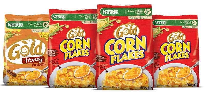 """""""Nestlé Gold Corn Flakes'li Kahvaltılar İyi Ki Var!"""""""