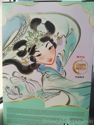 Over the Moon - Chang'e doll - back of the box