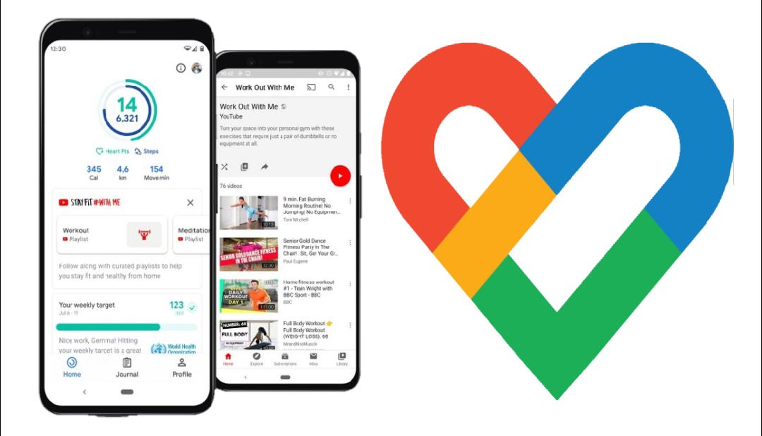 Google تطلق تحديث Google Fit الجديد لتشجيعك على ممارسة الرياضة اثناء البقاء في المنزل