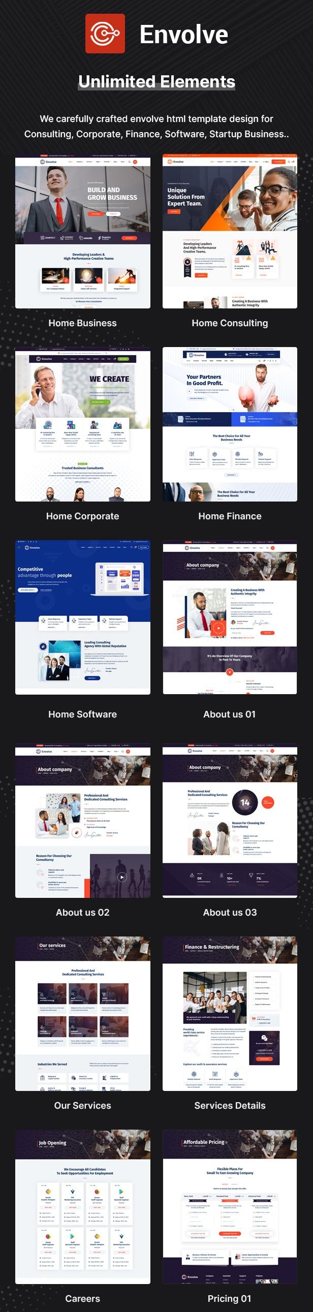 Multipurpose Business Template