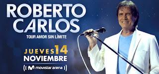 Concierto de ROBERTO CARLOS en Bogotá 2019
