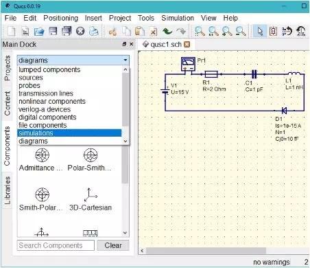 Software Simulasi Rangkaian Elektronik-8