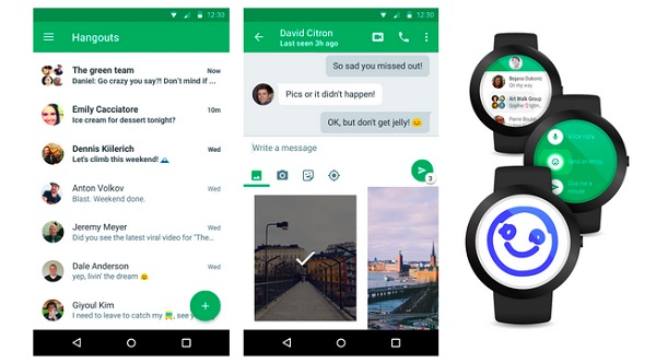 Google Hangouts 4.0 update for Android brings material design and more