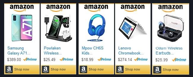 Amazon Ads Unit