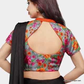blouse design 2018
