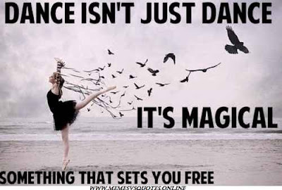 Dance is megical