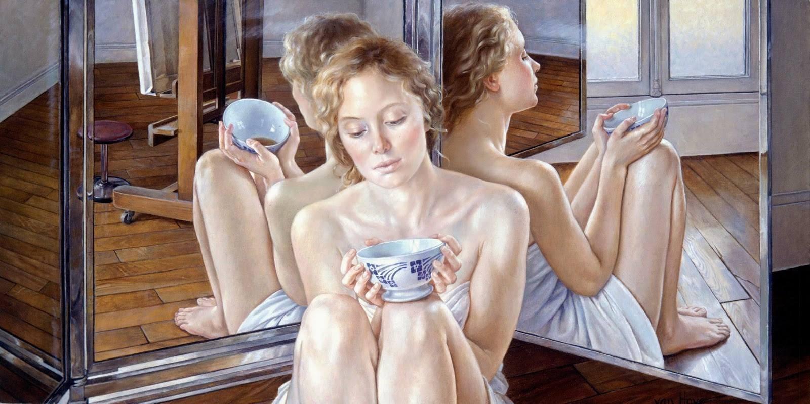 Francine Van Hove (French, 1942)   Masterpieces   Tutt'Art@