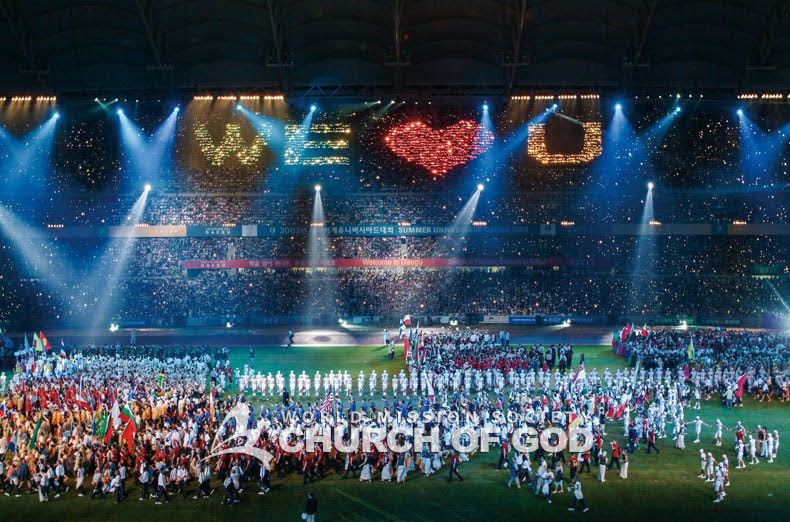 Supporting teams from 176 countries at the Summer Universiade held in Daegu, Korea (90,000 man-days)
