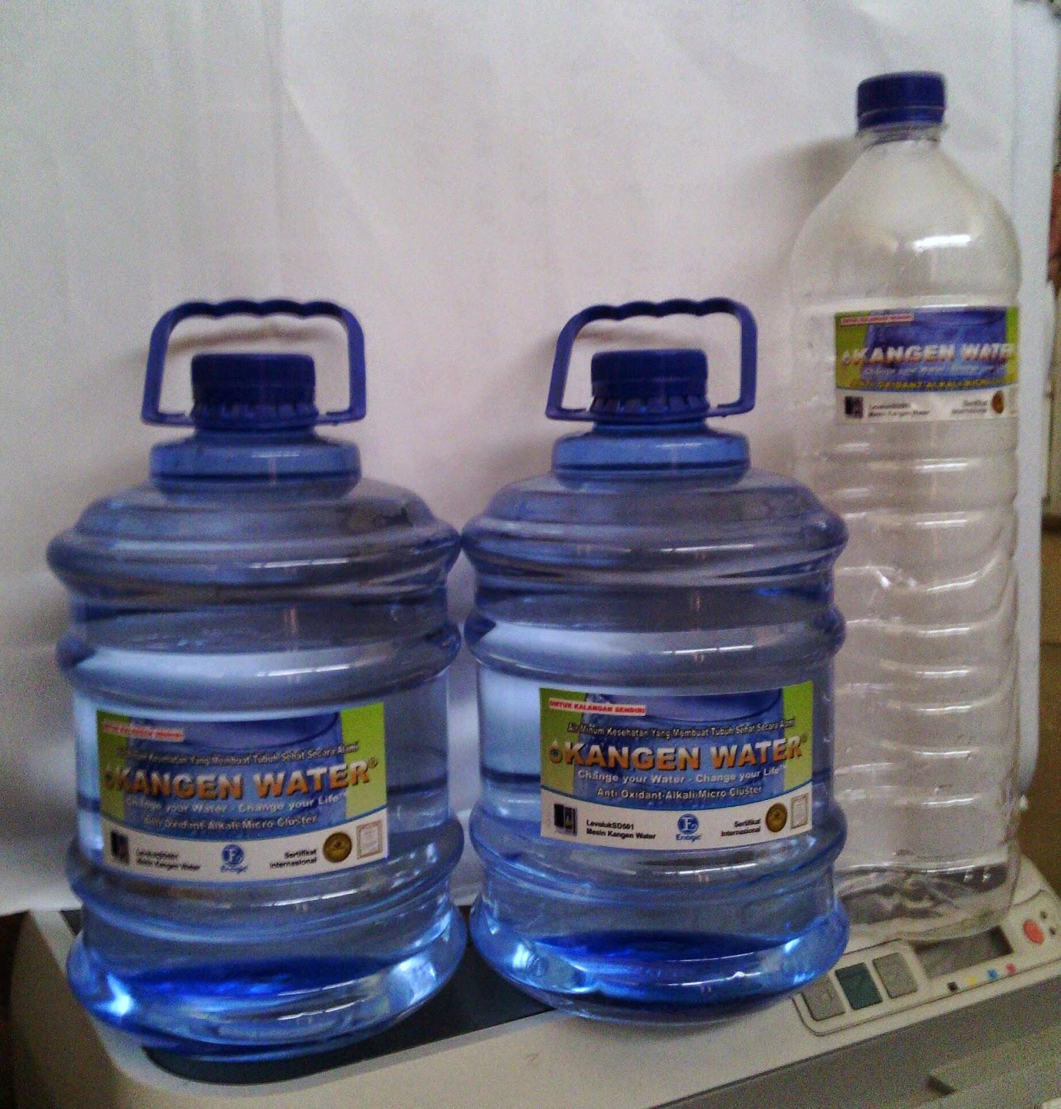 Soluso Cerdas Air Minum Kesehatan: KANGEN WATER : Solusi