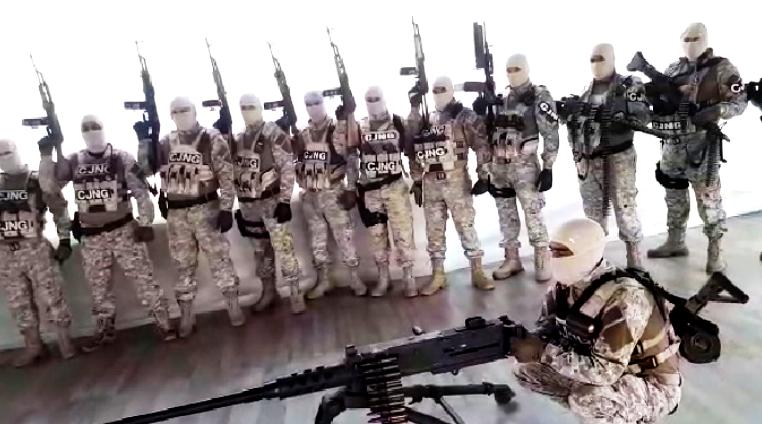 Borderland Beat: Video Michoacan: CJNG announces its arrival