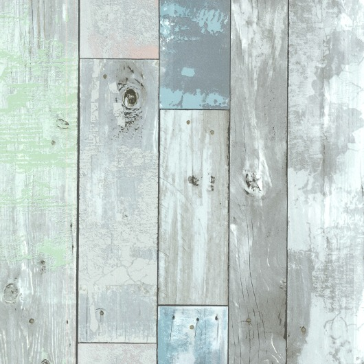 Distressed Wood Wall Paper