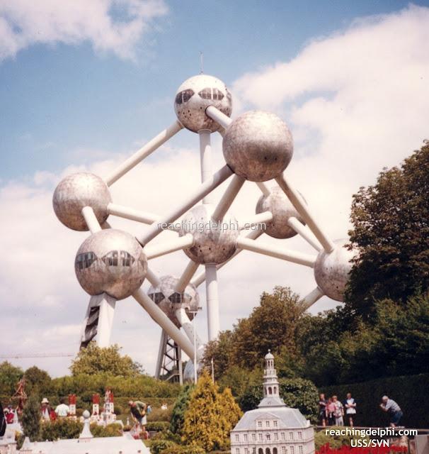 Atomium in Belgium