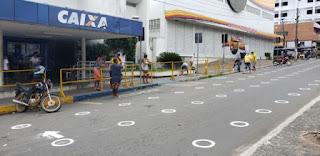 Cliente reclama de falta de dinheiro em agência da CAIXA em Guarabira PB