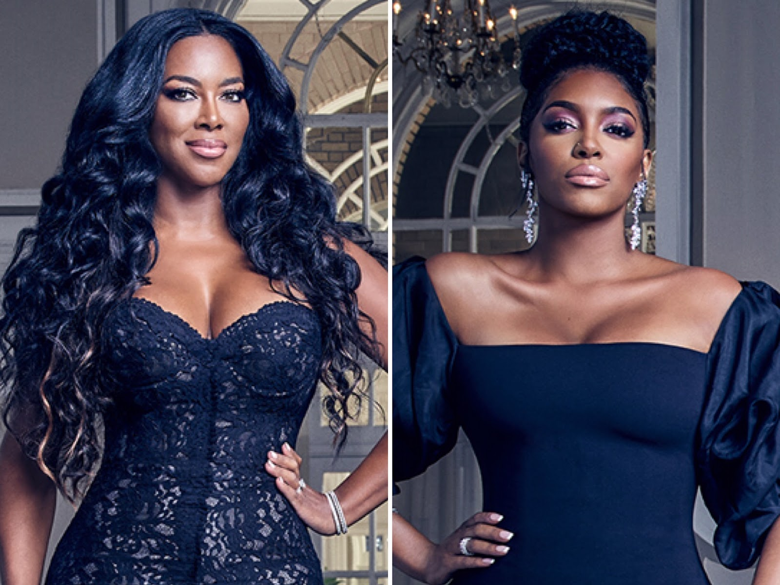 Kenya Moore Seemingly Agrees With Instagram Troll That Porsha Williams Blm Activism Is For Rhoa Storyline Porsha Claps Back And Kenya Responds