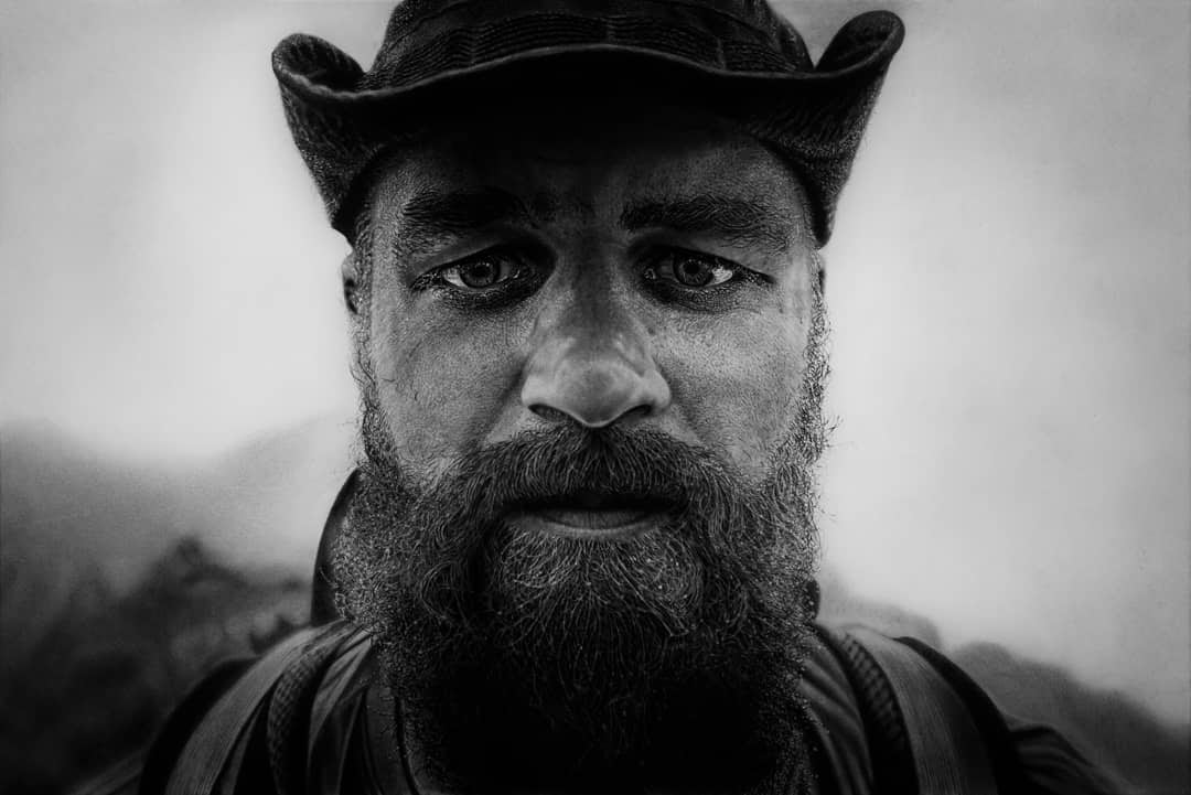 01-The-Mountain-Man-Ivan-Kobilšek-Pencil-Portrait-www-designstack-co