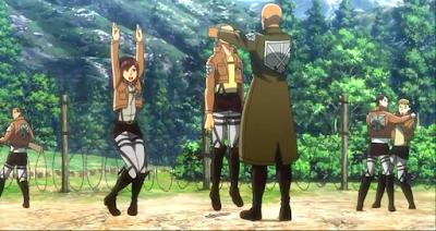 Adegan Lucu di Anime Attack On Titan   Landhiani.