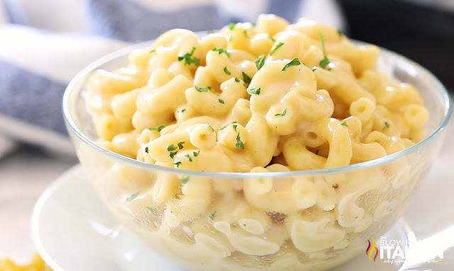 Mac and Cheese in a bowl