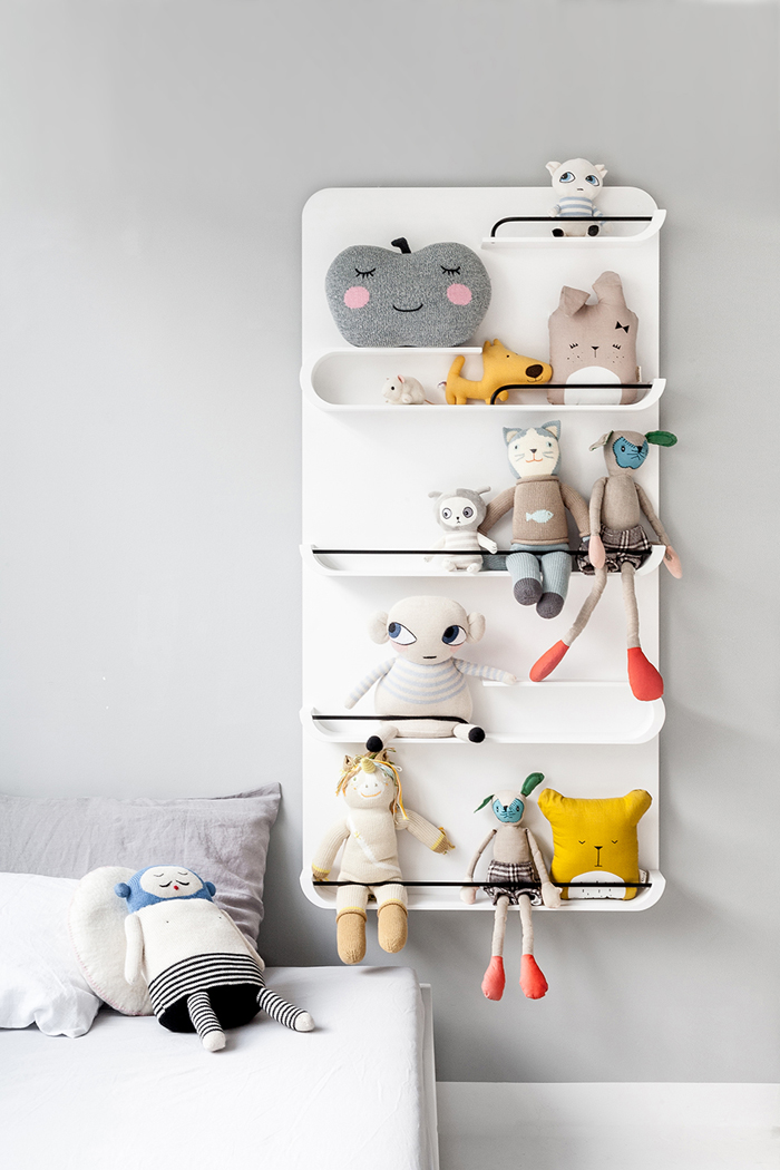 XL shelf white  from  Rafa-kids