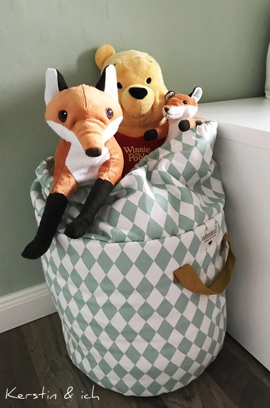 Kinderzimmer Junge Aufbewahrung Stofftiere