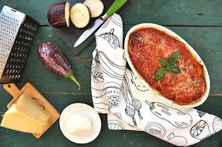 Italian Eggplant Parmigiana with Thermomix