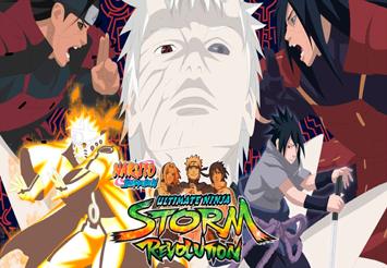 Naruto Shippuden Ultimate Ninja Storm Revolution [Full] [Español] [MEGA]