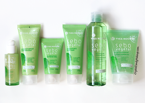 Yves Rocher Sebo Vegetal Skincare Line Review Photos