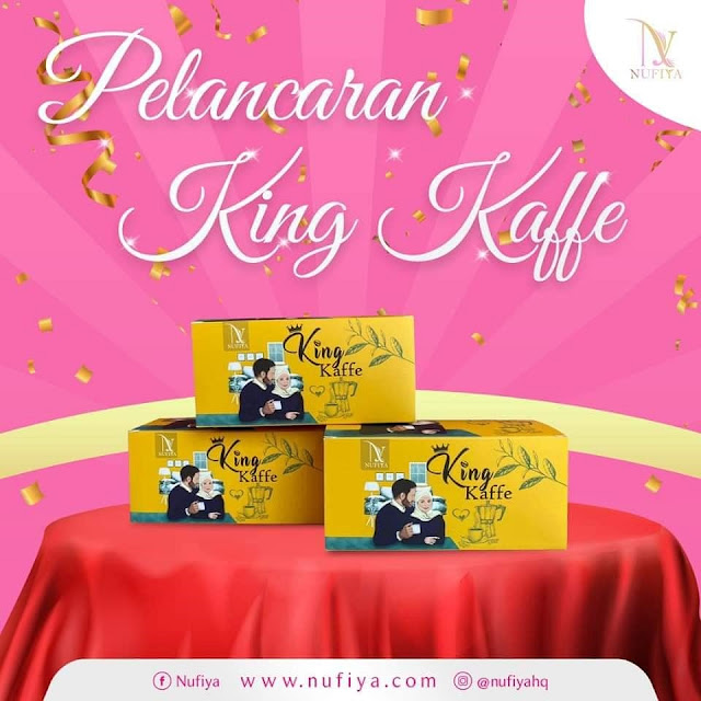 King Kaffe by Nufiya, Nufiya Empire, King Kaffe, Malaysia Local Coffee, Men's Coffee, Kopi Lelaki, Yaya Suhaimi, Lifestyle, Food