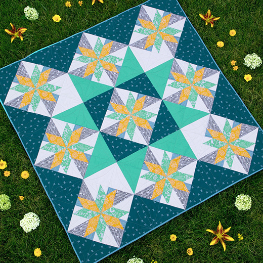 Star Light Quilt Free Pattern