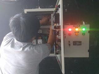 instalasi panel ats-amf